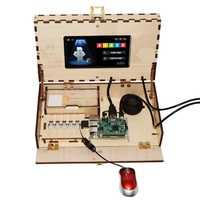 Kit ordenador para niños Madre y codificación juguete juego basado en Raspberry Pi Pantallas de demostración
