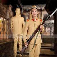 Japón soldado ropa uniforme monitor mayor Da Zuo ropa drama escenario disfraces la segunda guerra Imperial Ejército Japonés
