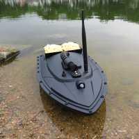 Flytec barco RC 2011-5 buscador de peces de 1,5 kg de carga 500 m de Control remoto Barco de cebo de pesca de juguetes para los niños de la batería Lipo de la nave