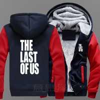 El último juego de los EE. UU. Película y televisión Ambitus grueso cremallera abrigo suéter envío gratis