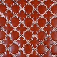 Bordado de alta calidad Faux Pu Cuero para pared cama casa decoración Cuero Sintetico tejido holográfico Leder Leer Stoff