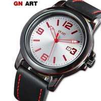Reloj de fibra de carbono ELMERA para hombre, reloj impermeable para niños, correa de cuero de lujo, reloj de carbono negro deportivo para hombre, diseñador de marca superior