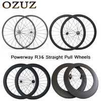 Tira recta 24mm 38mm 50mm 88mm 700C carbono ruedas clincher tubular 23mm de ancho bicicleta de carretera ruedas de 3 k bicicleta impuestos incluidos