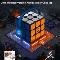 [Versión de actualización 2018 Xiaomi Mijia Giiker i3s AI inteligente Super cubo inteligente magia magnética Bluetooth APP sincronización rompecabezas juguetes
