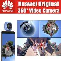 Huawei 360 Cámara CV60 Original huawei 360 grado cámara de video huawei EnVizion 360 lente de la cámara HD 3D en directo de la Cámara de los deportes