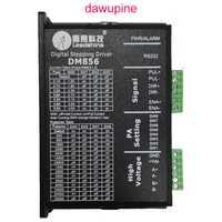 Dawupine paso a paso controlador de Motor Leadshine DM856 2-fase 57 86 Digital controlador de Motor paso a paso 20-80 Vdc 1A a 5.6A NEMA23 NEMA34