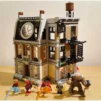 BELA vengadores infinito guerra Super Héroes Sanctum Sanctorum Showdow de bloques de construcción de la película Los niños juguetes Marvel Compatible Legoings