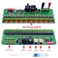 DMX decodificador 30 canales RGB luces de tira de LED controlador DMX 512 Dimmer No caja de plástico DC 9 V-24 V DMX512 controlador