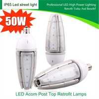 20 unids e39/E40/E27/E26 calle impermeable LED kits de modificación LED IP65 30 W 40 W 50 W llevó Highbay lámpara del maíz al aire libre maíz bulbo DHL