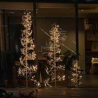 Estrellas árboles Led noche luz regalo de Navidad niñas 'room Forest Fairy dormitorios luces romántica decoraciones al aire libre lámpara de la estrella
