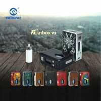 HCIGAR VT Bandeja de entrada V3 squonk Mod caja de salida 1-75 W vaporizador Evolv DNA75 Chip alimentado por batería 18650 elektronik sigara mod