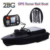 Barco de cebo de Sonar GPS más barato JABO 2BG 20A 10A piloto automático Sonar buscador de pesca nidificación tienda de barcos 8 nido de objetivo