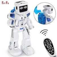 Inteligente RC Robot inteligente Control remoto de programación agua Robot figuras de acción de juguete bípedo humanoide Robot para niños regalo de cumpleaños