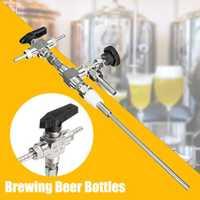 De llenado de botella de 3 vías de la manguera de acero inoxidable 304 contra presión cerveza Homebrewing cerveza co2 arma embotellado equipo