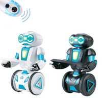 5 modos de funcionamiento RC Robot voz programación inteligente Control remoto juguetes para niños cumpleaños juguetes electrónicos