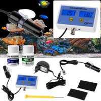 OOTDTY 2in1 Digital Salinity & PH Meter agua calidad Monitor prueba pH-2771 para acuario