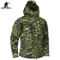 Mege ropa de marca de los hombres del otoño camuflaje militar chaqueta de lana chaqueta ejército ropa táctica Multicam hombre camuflaje cortavientos