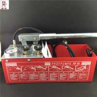 12L 50 kg mano potencia hidráulica de bomba de prueba de presión de tubería de agua fugas de 5MPa prueba hidráulica bombas
