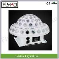 Envío libre 20 W efecto de luz láser 3 W X 6 unids RGB KTV disco cristal cósmico bola