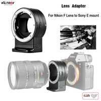 Adaptador de lente Viltrox NF-E1 de enfoque automático para Nikon F-Mount Series lente para Sony E-Mount A7II A7RIII a7SII A6500 para Nikon lente Sony