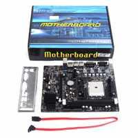 Profesional A55 placa base de escritorio soportes para Gigabyte GA A55 S3P A55-S3P DDR3 hembra FM1 Gigabit Ethernet, placa base