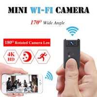 Wifi Mini cámara Espia HD 1080 P de la visión nocturna IR Bolsillo pequeño videocámara deporte bicicleta cuerpo Micro Cam Micro tarjeta SD