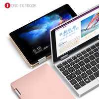 Original de la licencia de Windows 10 una Netbook una mezcla bolsillo 7 pulgadas Mini portátil UMPC de carcasa de aluminio CPU x5-Z8350 8 GB /128 GB en plata