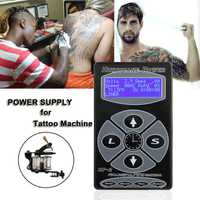 BIOMASER HP-2 huracán tatuaje fuente de alimentación Digital LCD tatuaje pedal tatuaje para máquinas de tatuaje cable clip