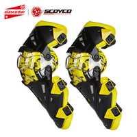 Moto scoyco Genou Pad Hommes équipement de protection Gurad Genou genouillère protectrice Rodiller Équipement Vitesse Motocross Joelheira Racing Moto