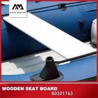 AQUA MARINA inflable barco accesorios Kayak placa de asiento de madera placa de asiento Kayak inflable para asiento de Piragüismo náutico 79*18*1,5 cm