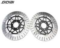 1 par rotores de disco de freno delantero para Kawasaki ZZR 400 ZZR400 1990-1999 ZR 550 ZR550 1991-1999 ZL600 B1 Eliminator 1995-1997