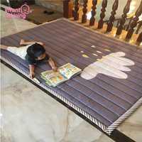 Infantile Brillant Bébé tapis de jeu Coton Tapis de Jeu pour Enfant 2 cm Épaisseur Non-slip Tapis 140*200 cm Enfants tapis de jeu Machine Lavable