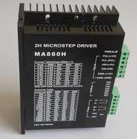 MA860H controlador de motor paso a paso del cnc controlador para NEMA 23/34/42 2,0-7.8A AC18-80V o DC24-110V 2/4 fase