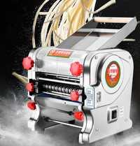 Envío Gratis eléctrica automática de hacer fideos comercial máquina de pasta máquina de prensado máquina de pasta de la piel de dumpling de fideos de