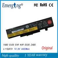 10.8 V 48WH nueva batería original del ordenador portátil para Lenovo ideapad Y480 Y580 V480 V580 borde E430 E435 E530 E535 L11S6Y01 l11L6F01 L11L