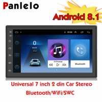 Android 8.1 Quad Core 2 Din multimédia 7 pouces 2 din unité de tête voiture GPS Navigation Audio Radio universel écran tactile voiture stéréo
