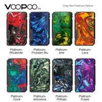 Nuevo Original VOOPOO arrastrar Mini edición platino caja MOD con la batería 4400mAh TIEMPO DE vaping Max 117W del voopoo arrastrar 2/GEN/Mod