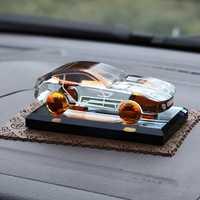2018 lujo Car Dashboard adornos de Perfume Auto Interior accesorios decoración réplica de cristal para Ferrari y otros todos los coches