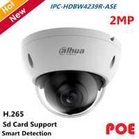 POE Dahua color Starlight cámara IP 2MP IPC-HDBW4239R-ASE H.265 H.264 inteligente Detección y SD Tarjeta de apoyo cámara ip