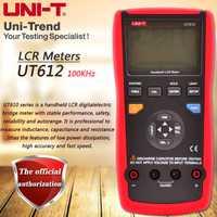 UNI-T UT612 de LCR Puente Digital medidor de inductores/Condensadores/comprobadores de resistencia de almacenamiento de datos de transferencia de datos USB de fondo