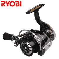 RYOBI SHOCK 1000 2000 3000 4000 Spinning pesca carrete 7 + 1 BB 5,0: 1/5. 1:1 rueda De hilado carrete De Pesca Carpa Molinete De Pesca