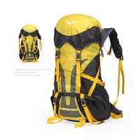 Escalada al aire libre bolsas Camping al aire libre de viaje mochilas profesional ultraligero impermeable senderismo equitación mochila 45L 50L CB107G