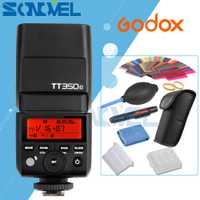 Godox mini TT350C TTL HSS máx. 1/8000 s 2.4g sistema inalámbrico X para Canon EOS 1300D 800D 760D 750D 80D 77D 7D 6D 5D Mark III