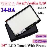 WEIDA LCD para HP PAVILION X360 14M-BA 14-BA Serie 14