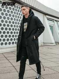 VIISHOW chaqueta de invierno de los hombres de la marca Park 2018 nuevo invierno hombre chaqueta con capucha abrigo Homme Hiver abrigo de invierno los hombres MC2088174