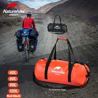 Naturehike de gran capacidad impermeable bolsa de 500D bolso de viaje de lluvia natación bicicleta coche navegación bolsa seca trekking mochila