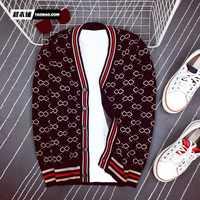 Suéteres de moda para hombre 2018 Runway marca de lujo diseño europeo estilo de fiesta ropa de hombre L10598