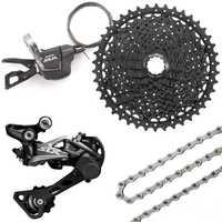 SHIMANO DEORE SLX M7000 Groupset T 34 t Crankset Mountain Bike Groupset 1x11-Speed 40 t 42 t 46 T M7000 palanca de cambio trasero