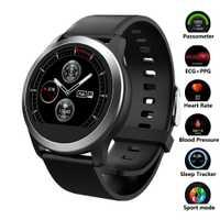 Reloj inteligente Monitor de ritmo cardíaco sangre presión reloj ECG + PPG reloj de Fitness IP68 deporte impermeable Smartwatch para Android IOS teléfono