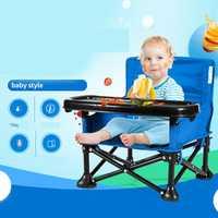 Silla de bebé portátil plegable Camping al aire libre alimentación del bebé silla para bebés alimentación infantil niños infantil Dropshipping
